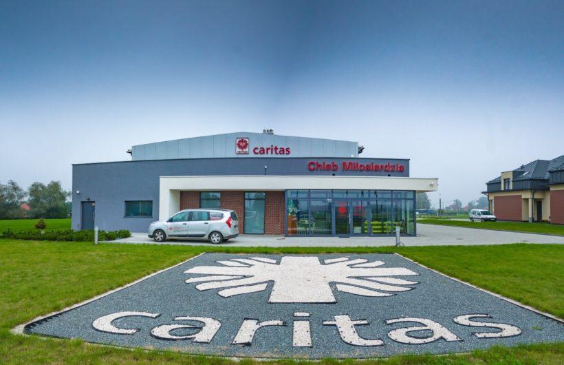 Biurowiec fundacji CARITAS w Brzegach