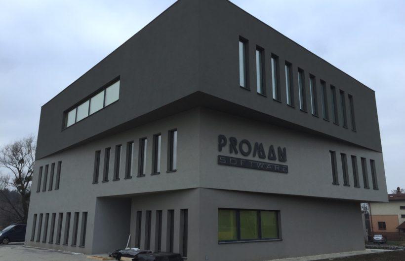 Biurowiec firmy PROMAN w Katowicach
